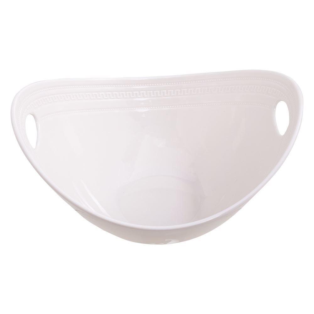 Tigela Branco 27,5X23,2X15,5Cm - Melamina