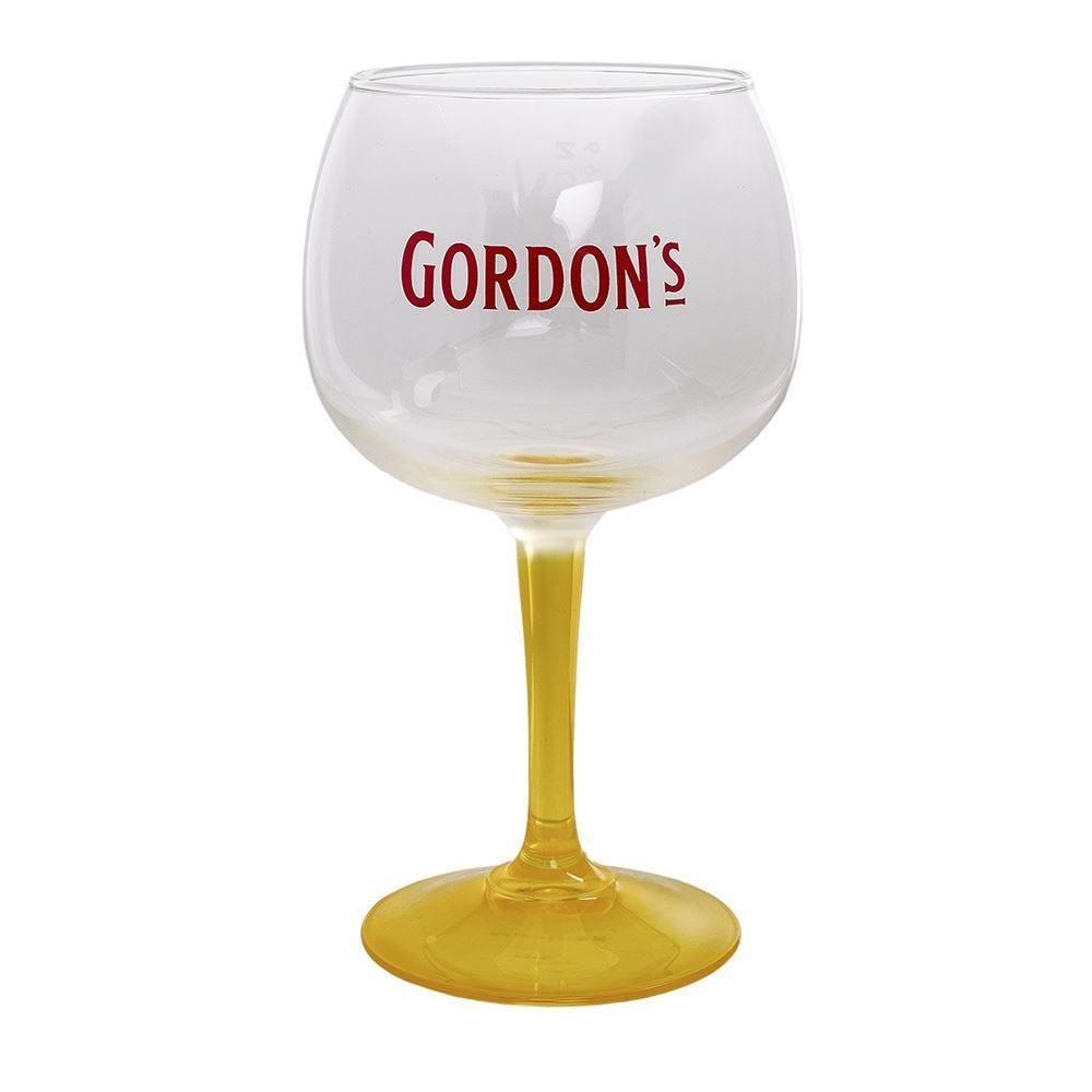 Taca Gin Gordons Yellow 600Ml - Vidro