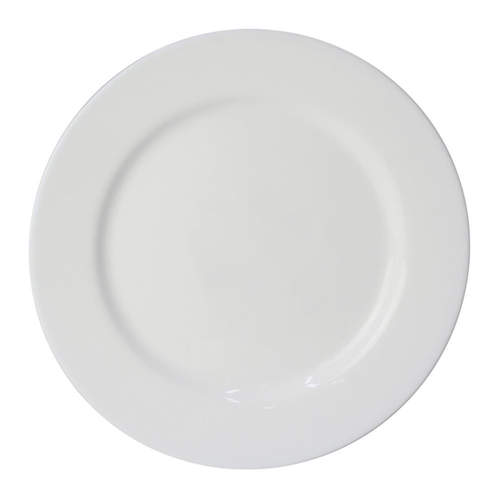 Prato Raso Opaline Everyday 26,5Cm - Branco