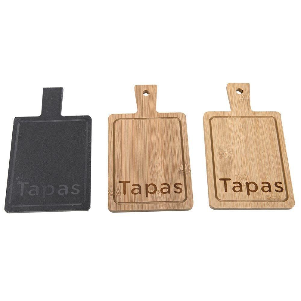 Mini Tabua P/ Queijo 3Pc - Quadrado