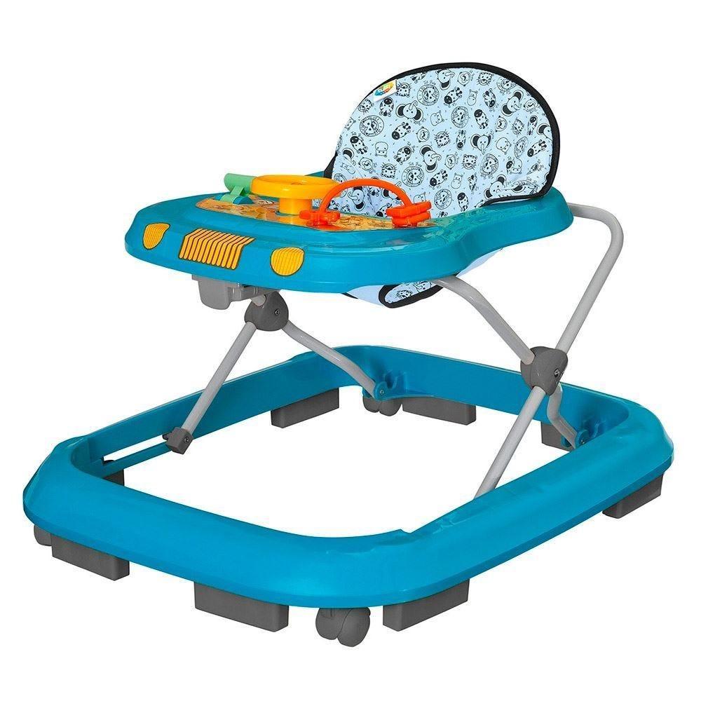 Andador Musical Tutti Baby - Safari Azul