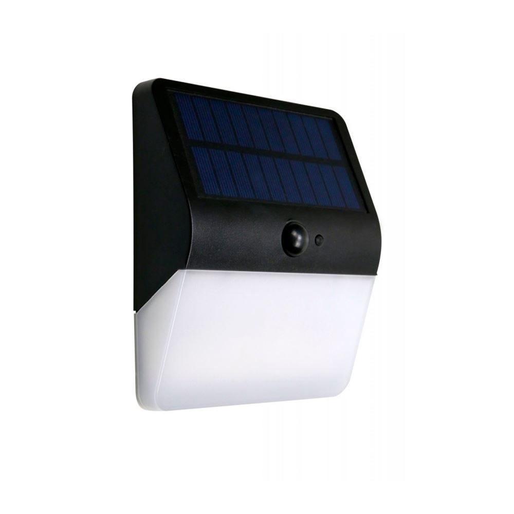 Arandela Solar 400 Lm 3000K Ecoforce - Luz Quente