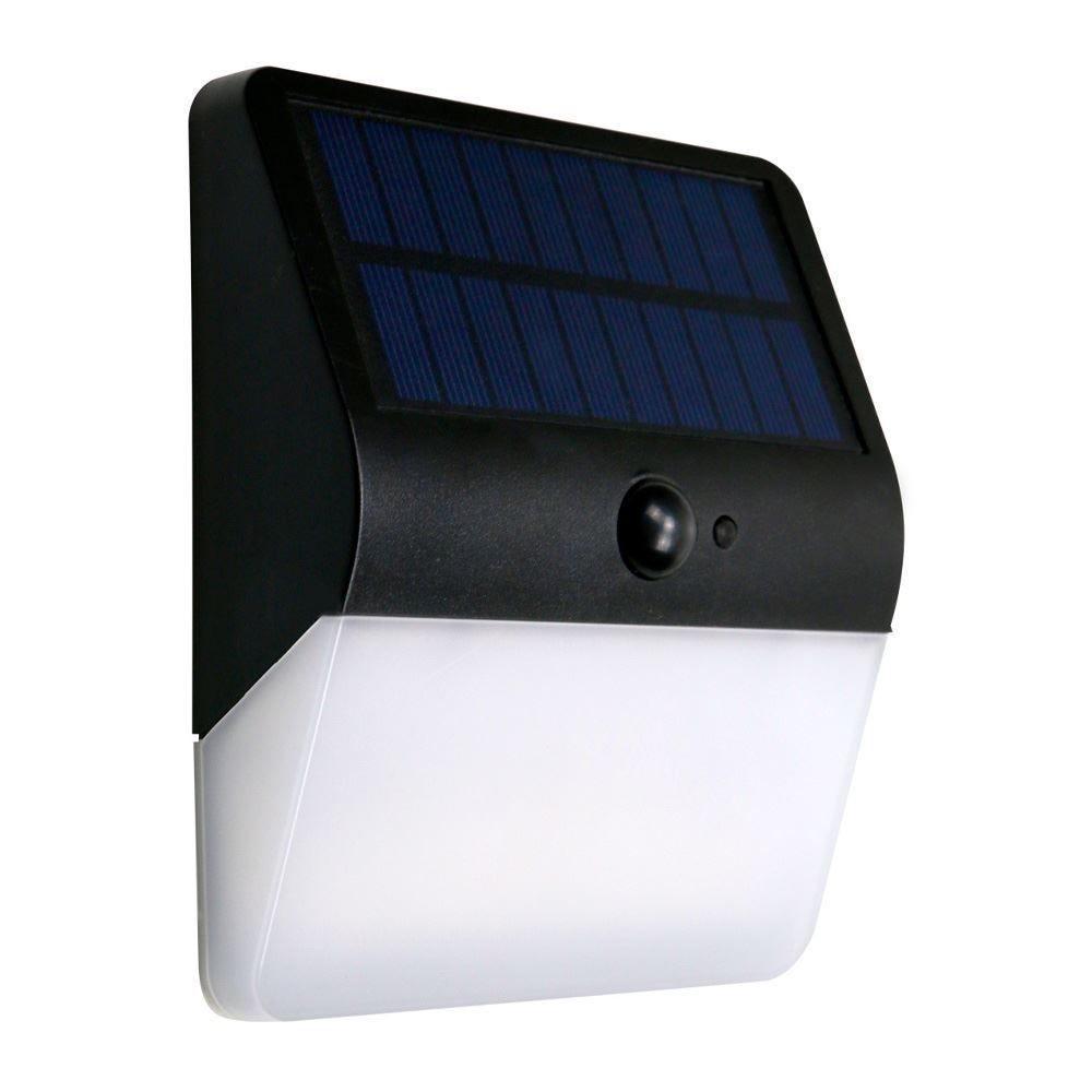 Arandela Solar 400 Lm 6000K Ecoforce - Luz Fria