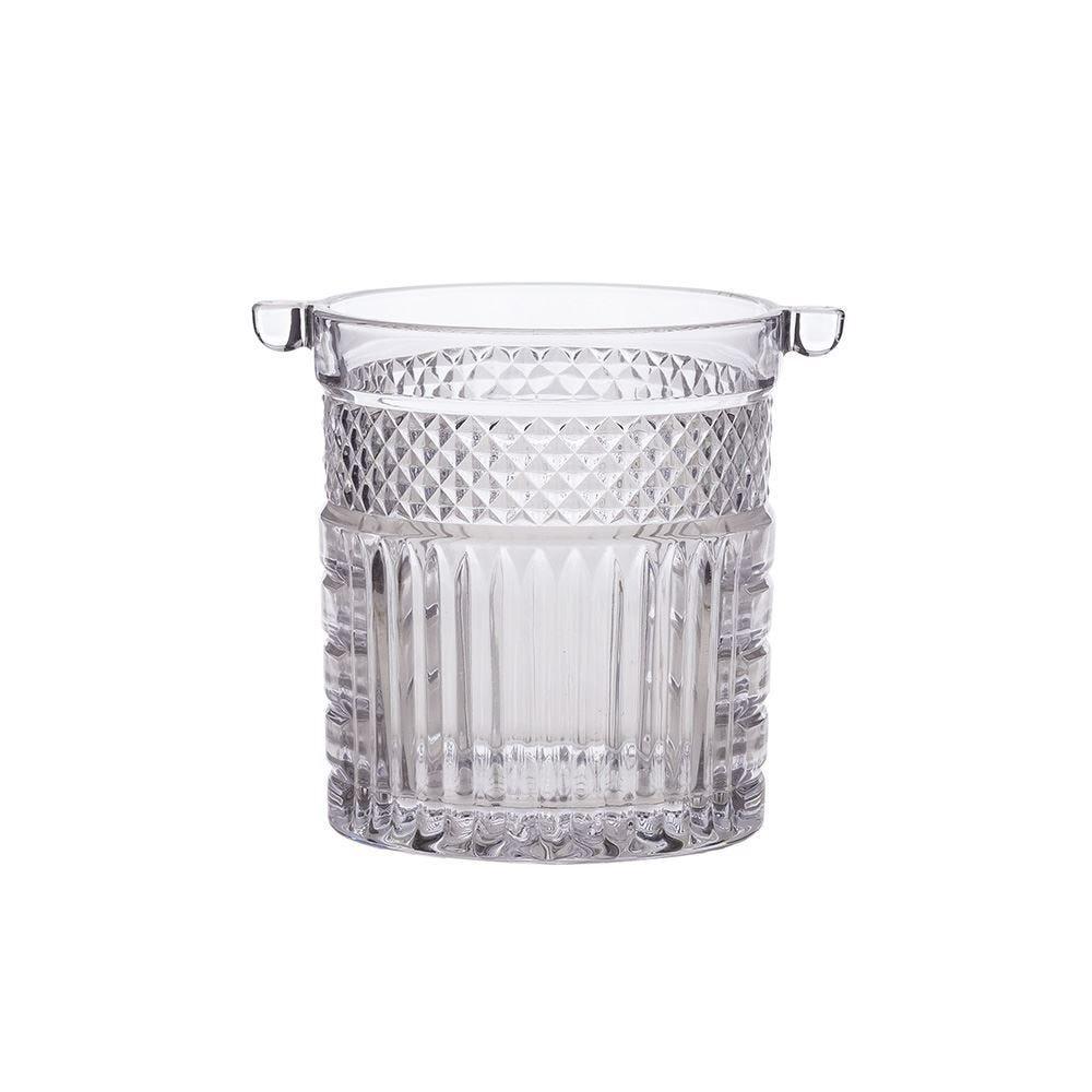Balde De Gelo Santorini 1 Litro Lyor - Cristal