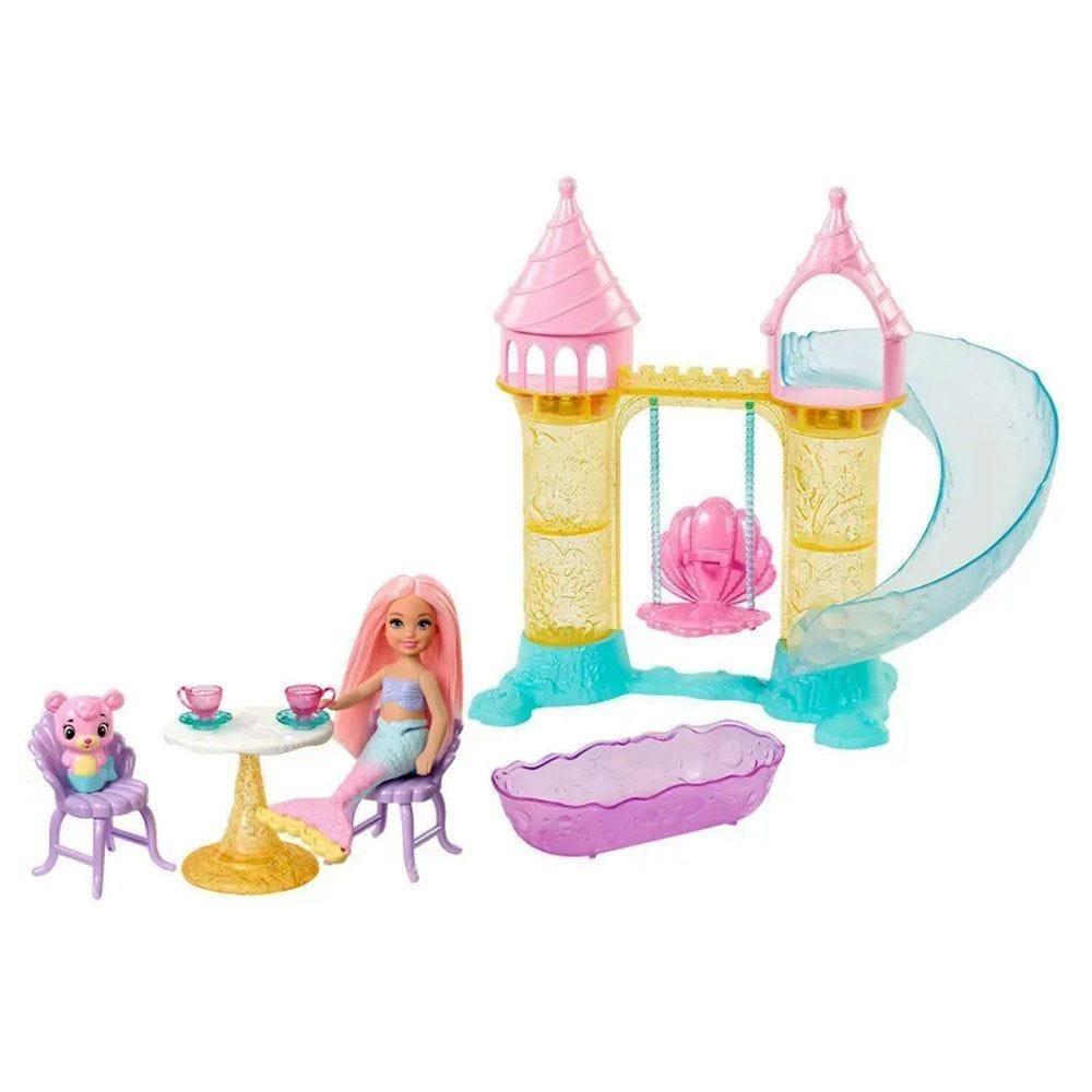 Barbie Parque Aquático De Sereias Mattel - Fxt20 - Rosa