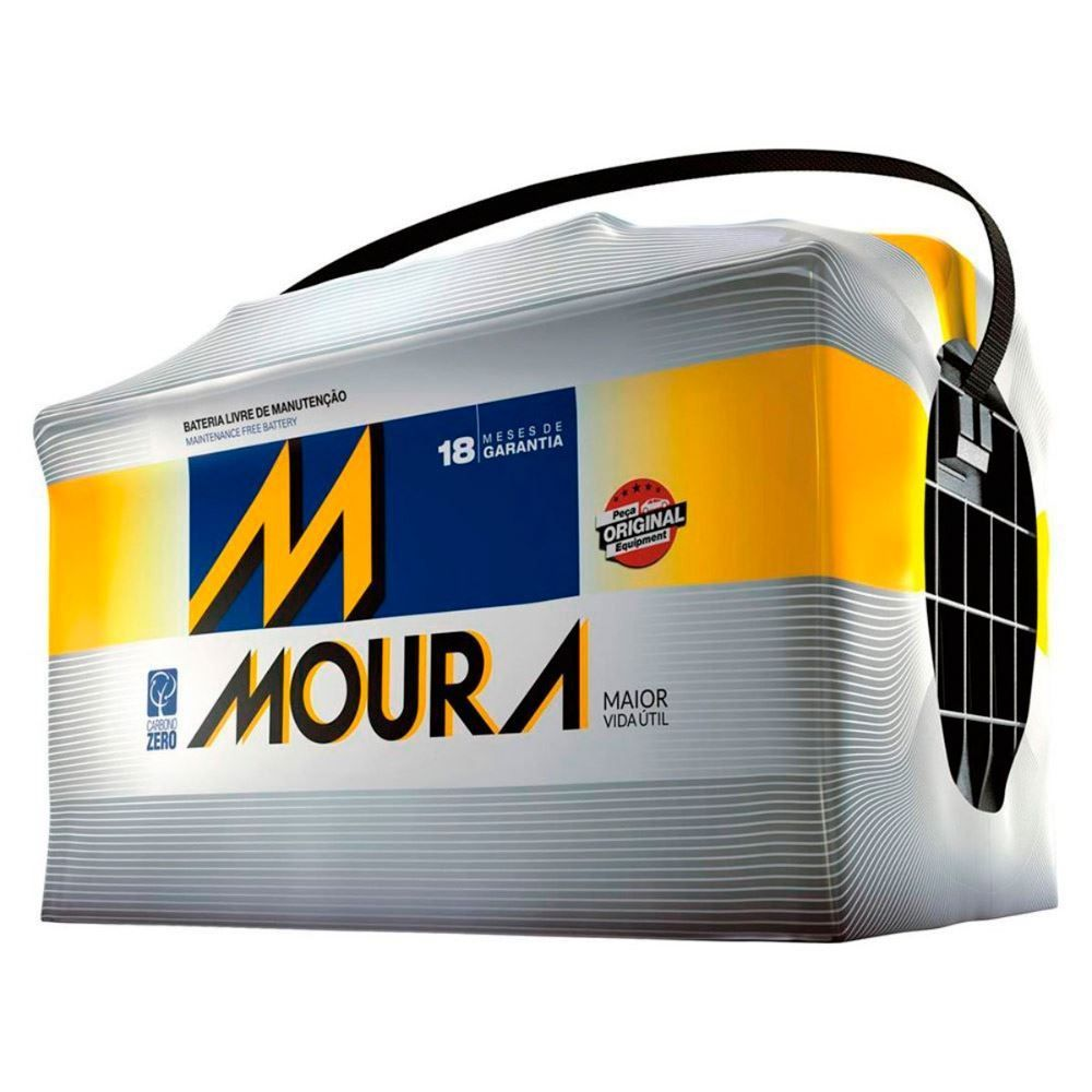 Bateria Automotiva 12V/60Ah Moura M60ax - 12003679