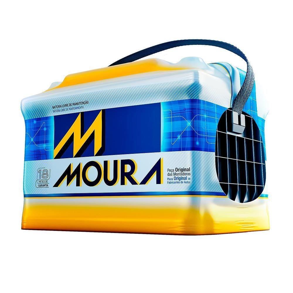 Bateria Automotiva 12V/70Ah M70kd Moura - 12002842