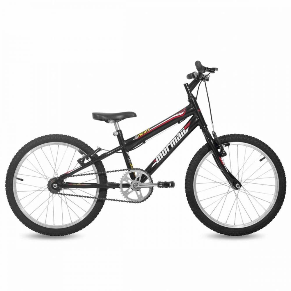 Bicicleta Mormaii Next Aro 20 Rígida 1 Marcha - Preto