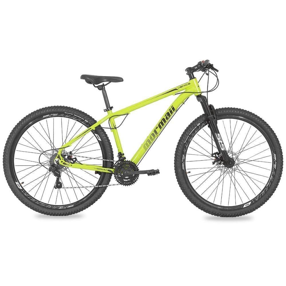 Bicicleta Aro 29 Venice 1.0 Verde E Preto Mormaii - 201060631350235