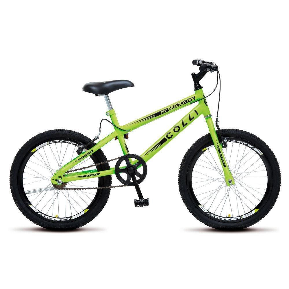 Bicicleta Juvenil Aro 20 Max Boy Colli Neon - 106_13D