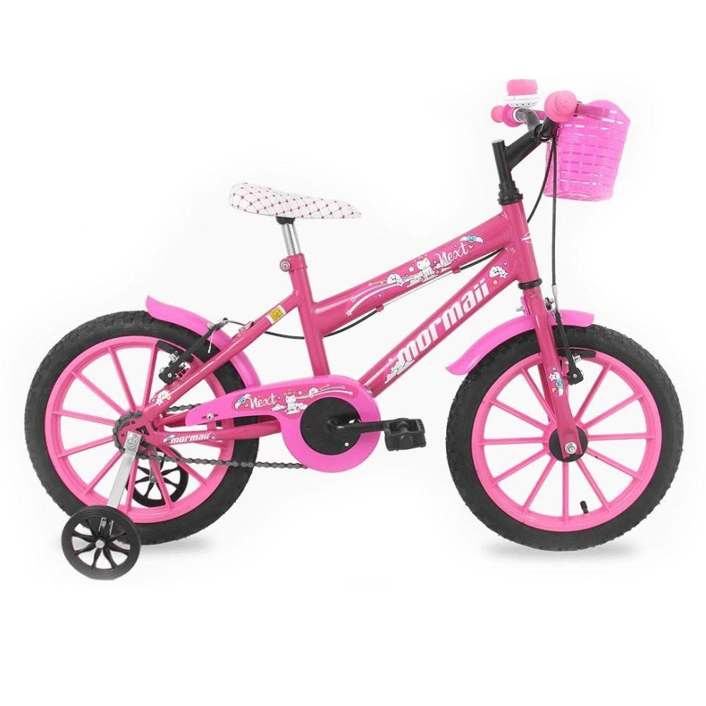 Bicicleta Mormaii Aro 16 Feminino Next Rosa - 39-064