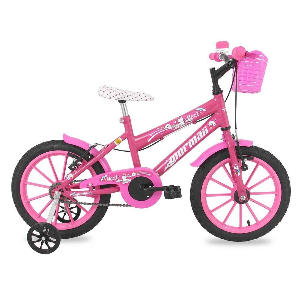 Bicicleta Mormaii Next Aro 16 Rígida 1 Marcha - Branco/lilás