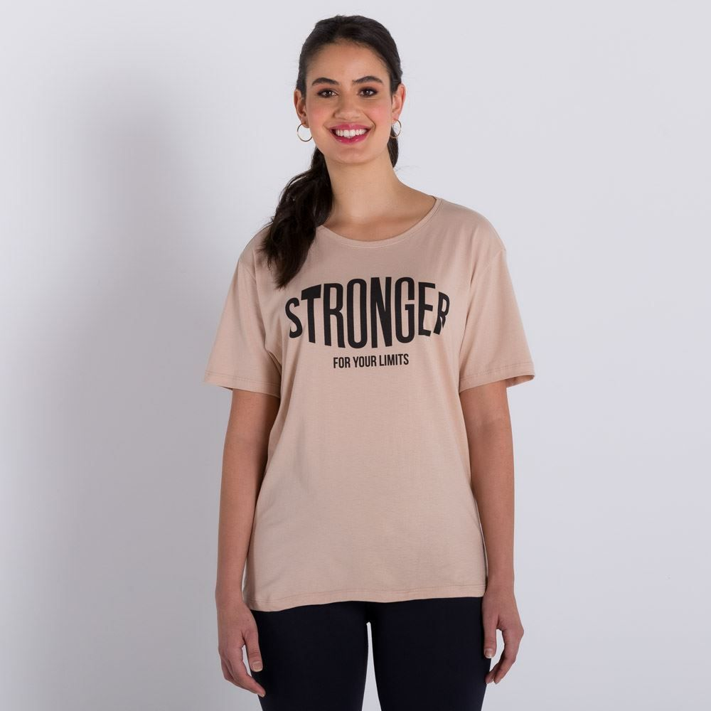 Blusa de Malha Stronger Scream