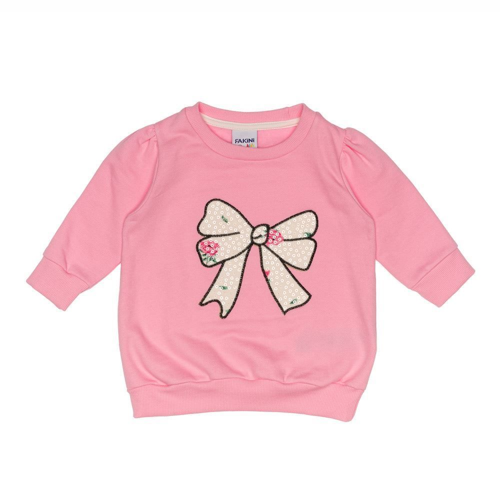 Blusão de Bebê Moletom Felpado com Bordado Fakini