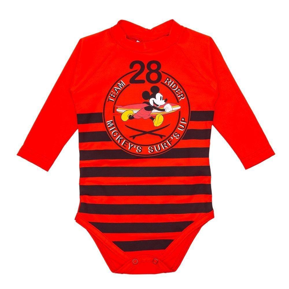 Body de Bebê FPS UV 50+ Mickey Disney