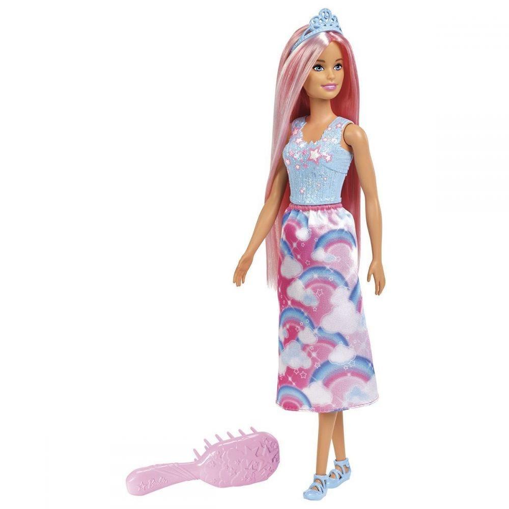 Boneca Barbie Penteados Mágicos Fxr94 Mattel - Rosa