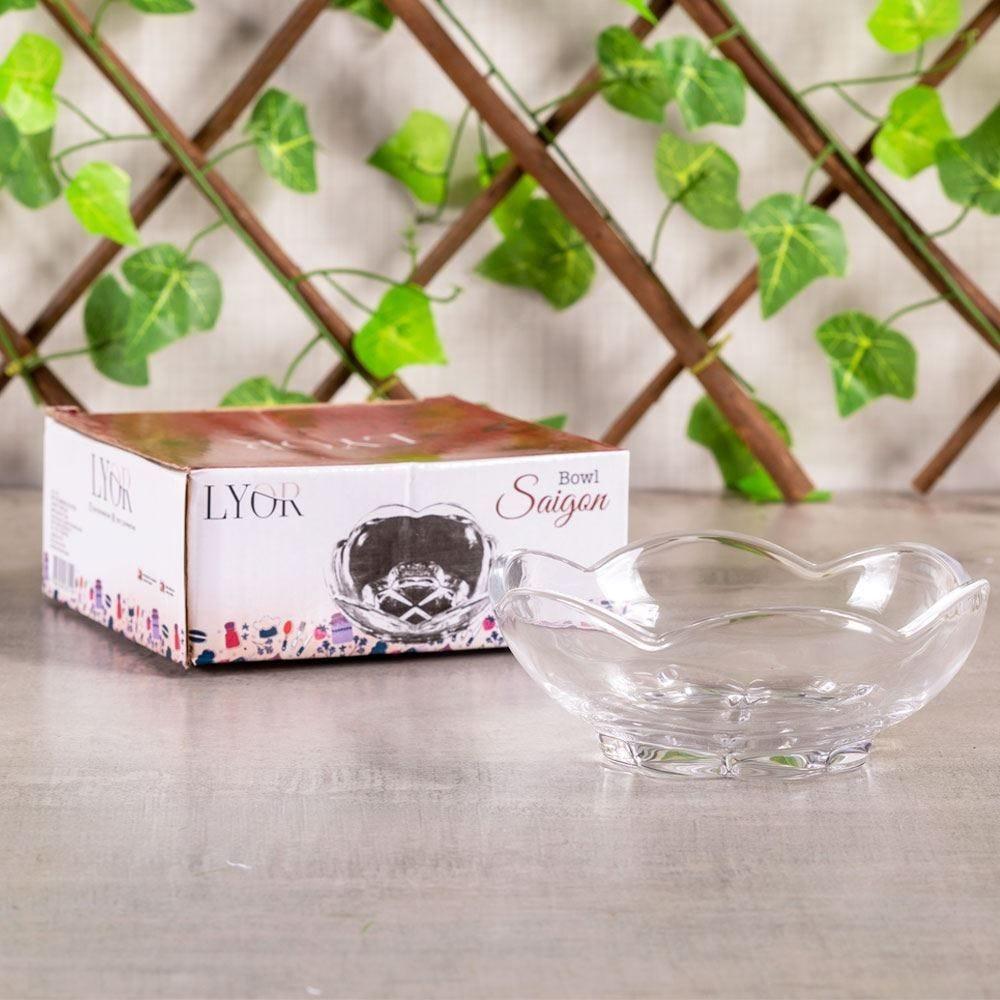 Bowl de Cristal Saigon Coliseu - Transparente