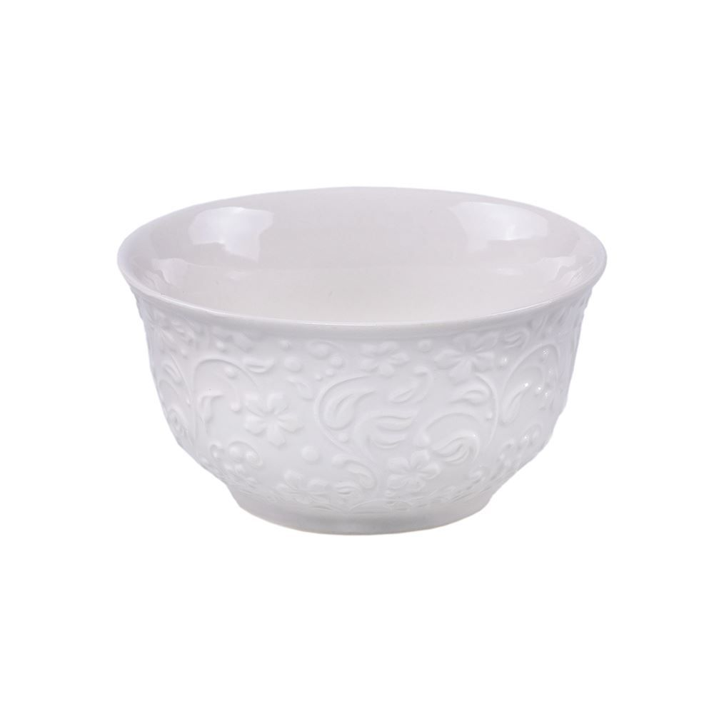 Bowl De Porcelana New Bone 380Ml Lyor - Flowers
