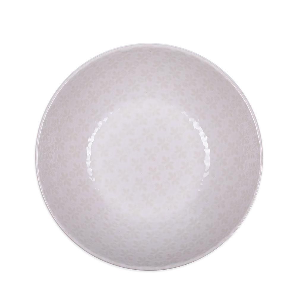 Bowl Finecasa Margarida 17Cm - Off White