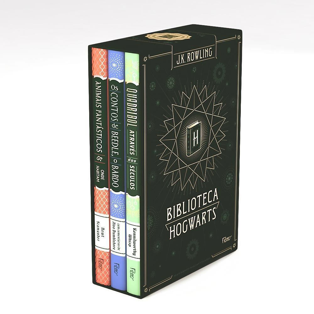 Box Livro Happy Potter Biblioteca Hogwarts - Edição 2017