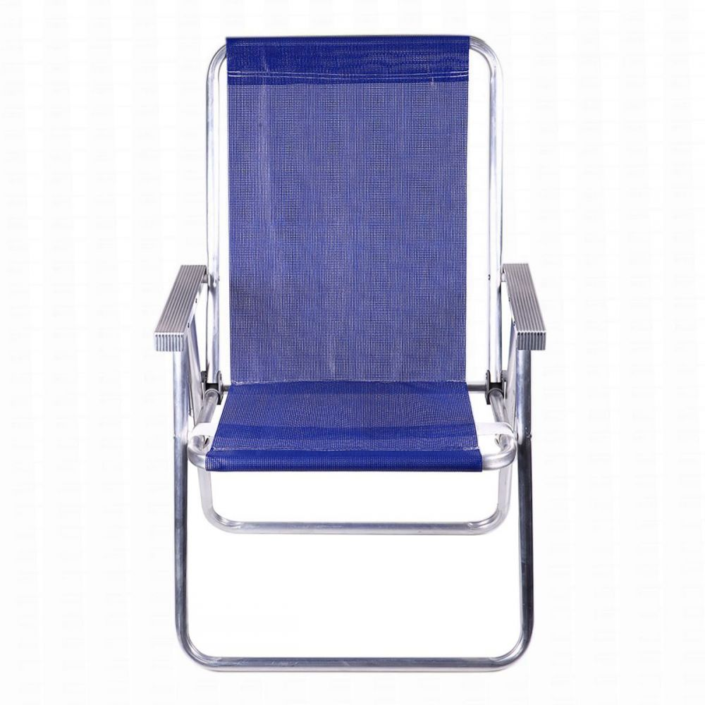 Cadeira Alumínio Conforto Azul Havan Mor - 2551