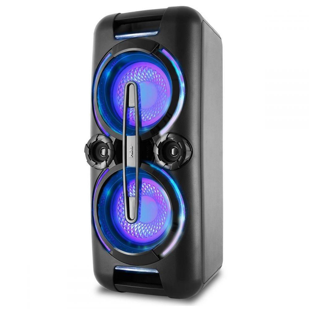 Caixa Acústica PCX8000 Flash Lights Philco - Bivolt
