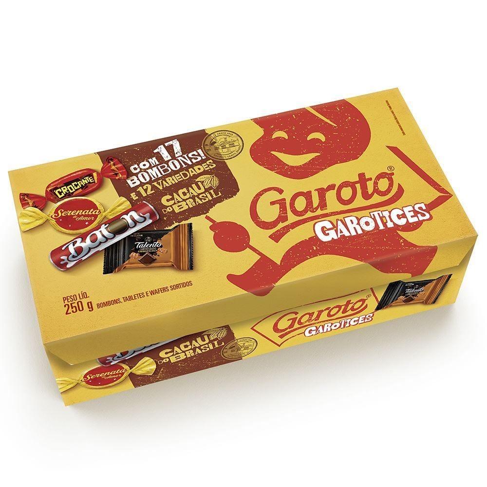 Caixa De Bombom Sortido Garoto - 250g
