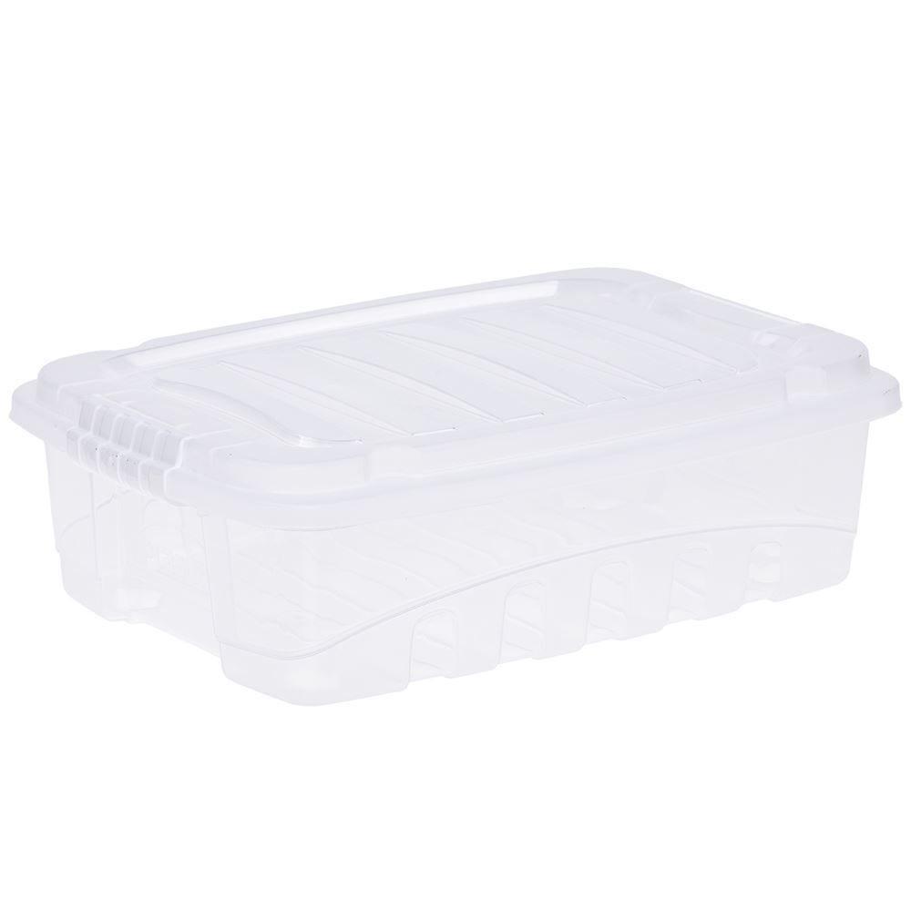 Caixa Organizadora 9,3 Litros Plasutil - Transparente