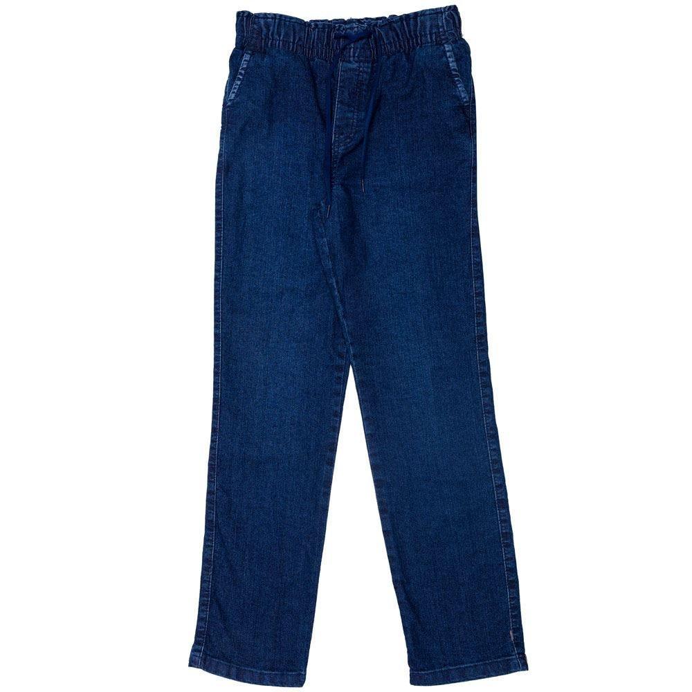 Calça 12 a 16 anos Jeans com Cordão Hot Dog