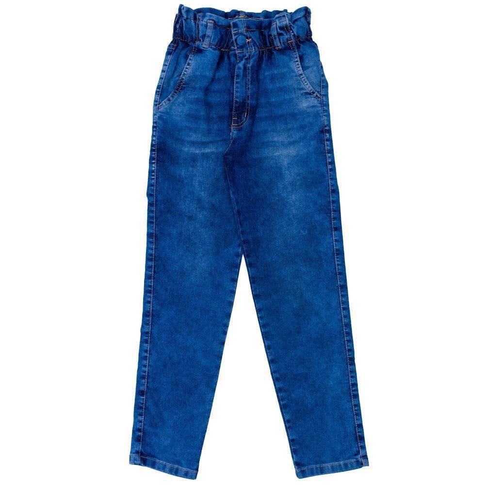 Calça 12 a 16 anos Jeans Paperbag Marmelada