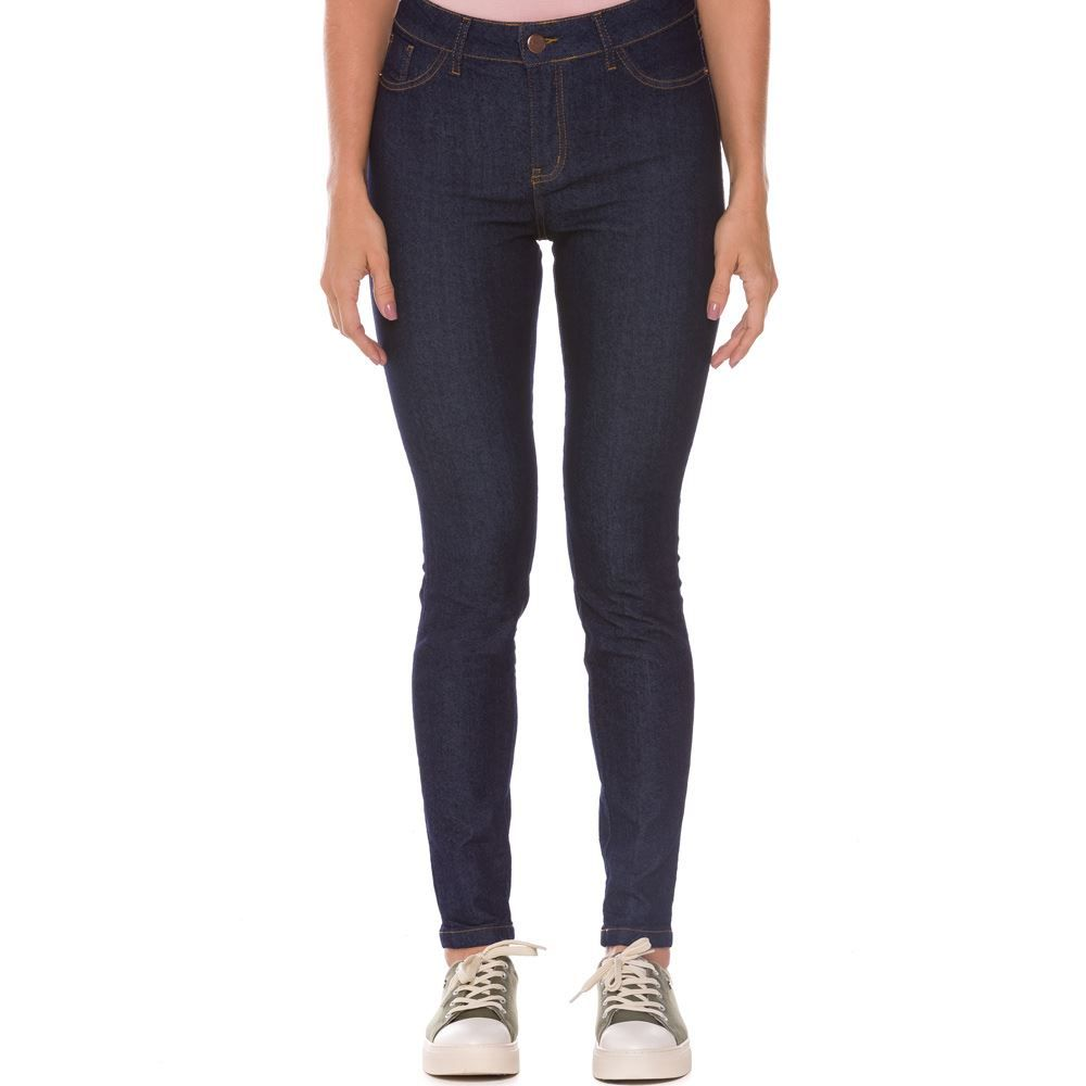 Calça Jeans Skinny Feminina Amaciada Patrícia Foster