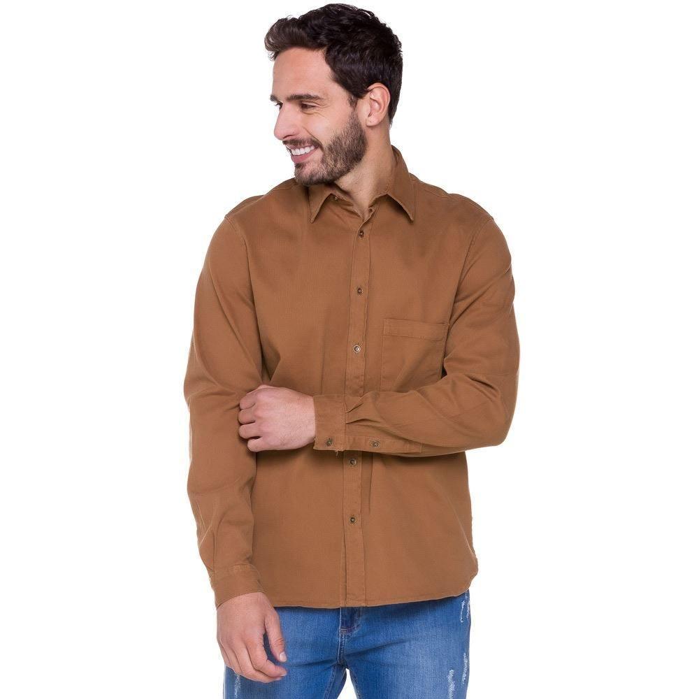 Camisa Sarja Cotelê Thing