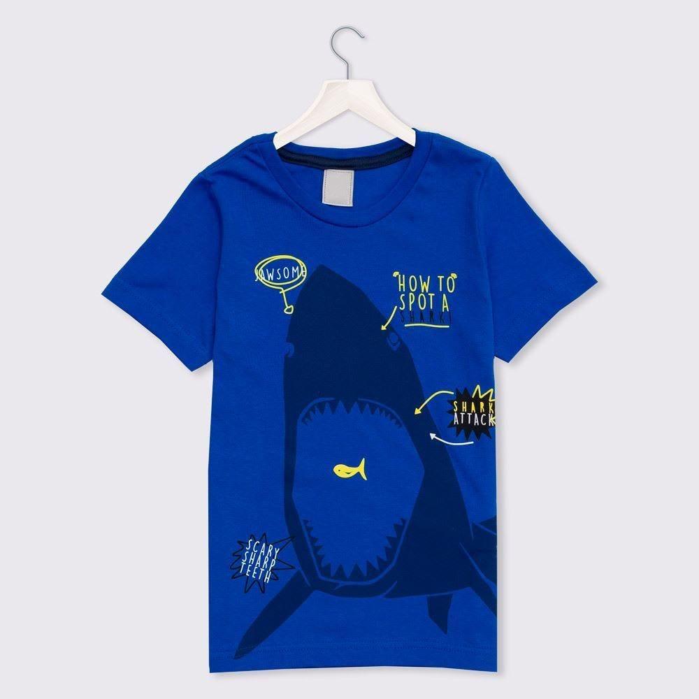 Camiseta 1 a 3 anos Fundo do Mar Yoyo Kids