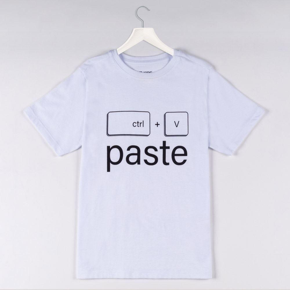 Camiseta 1 a 3 Ctrl V Paste Yoyo Kids