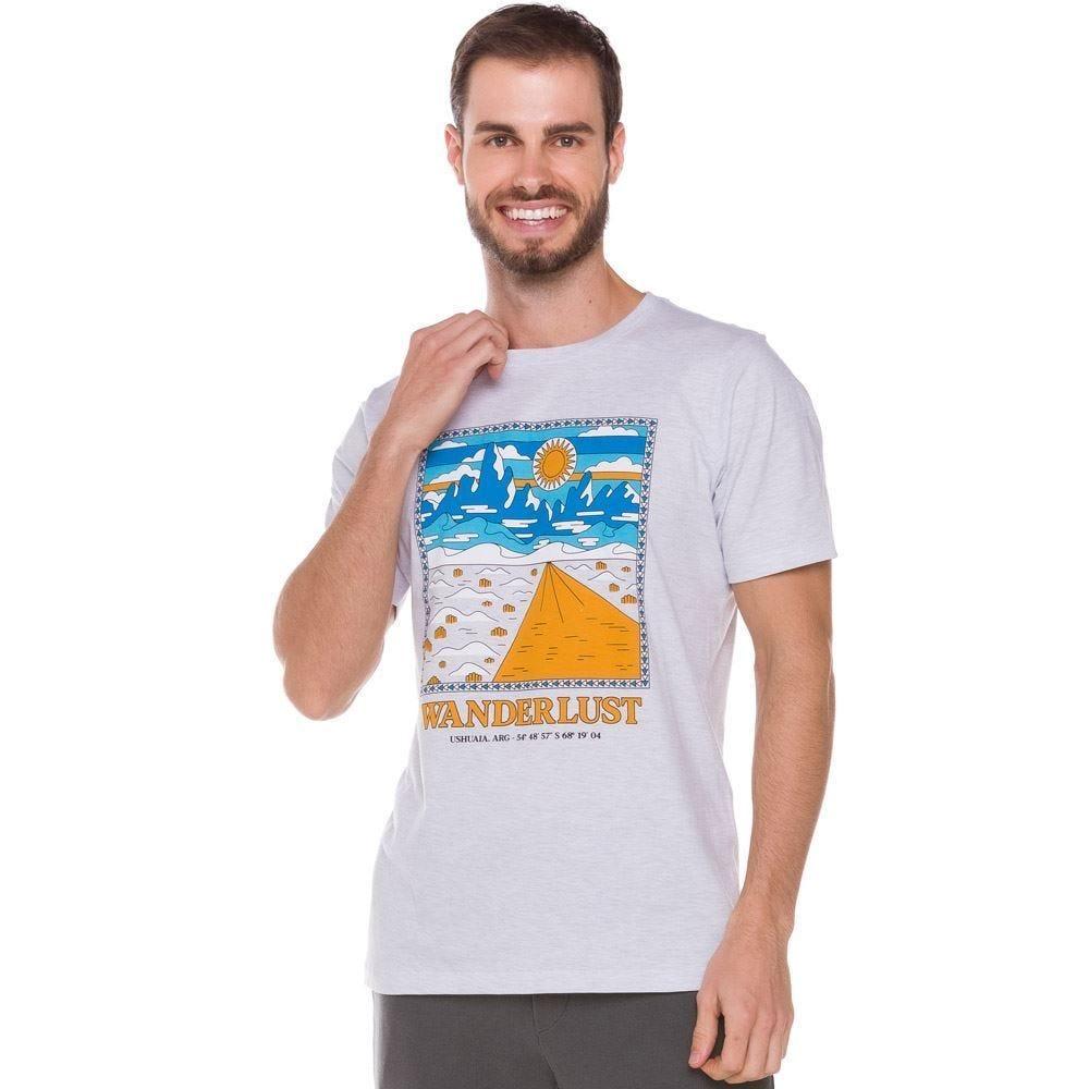 Camiseta com Paisagem Frontal Thing