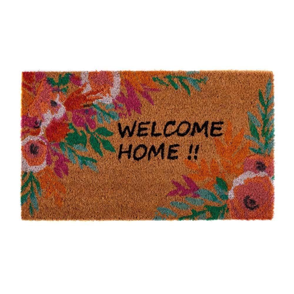 Capacho Fibra De Coco Mumbai 33X60cm Havan - Welcome Home