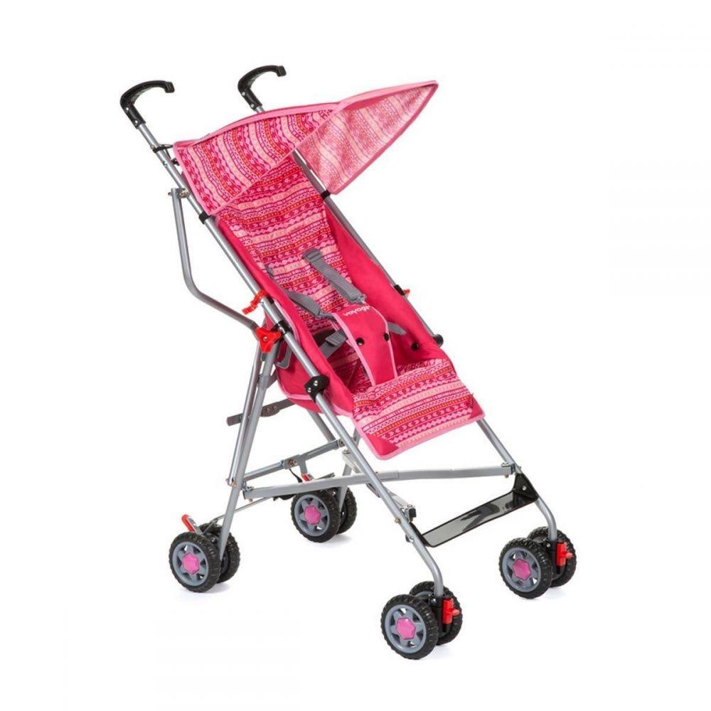 Carrinho de Bebê até 15 kg Umbrella Slim - Rosa