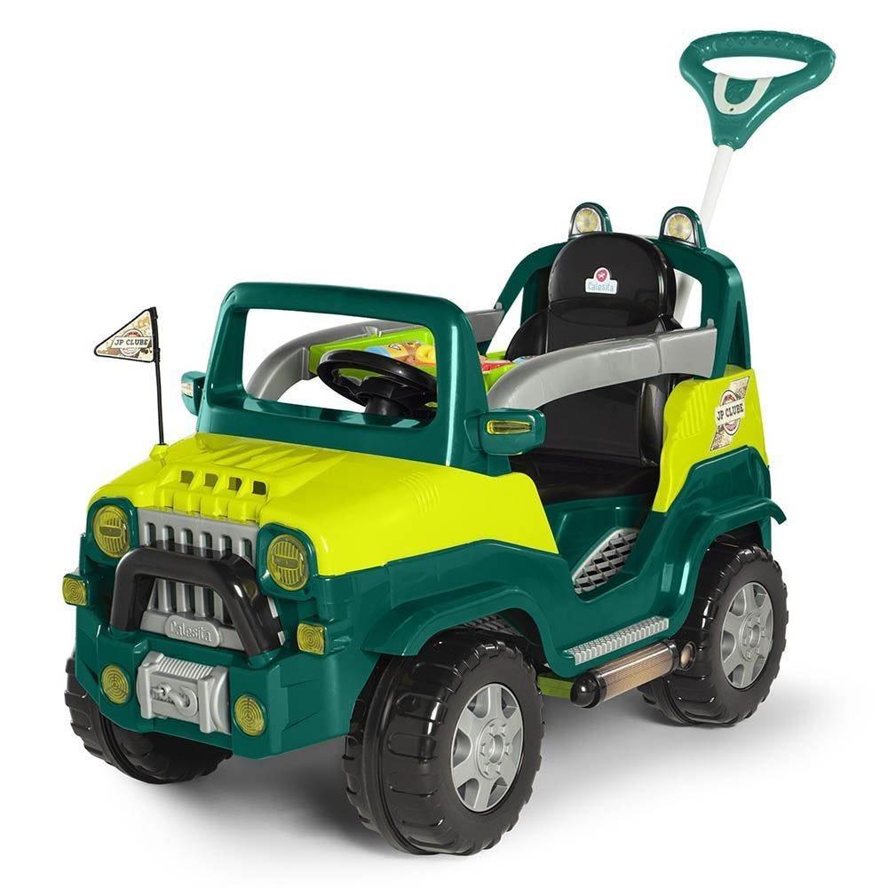 Carro Calesita Diipi Verde Passeio E Pedal - 1027