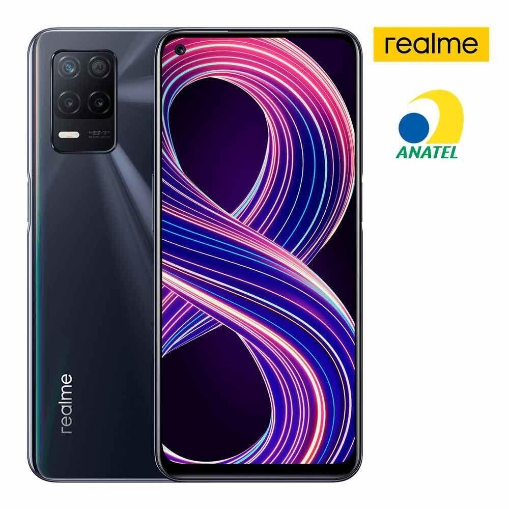 Celular Realme 8 5G - PRETO