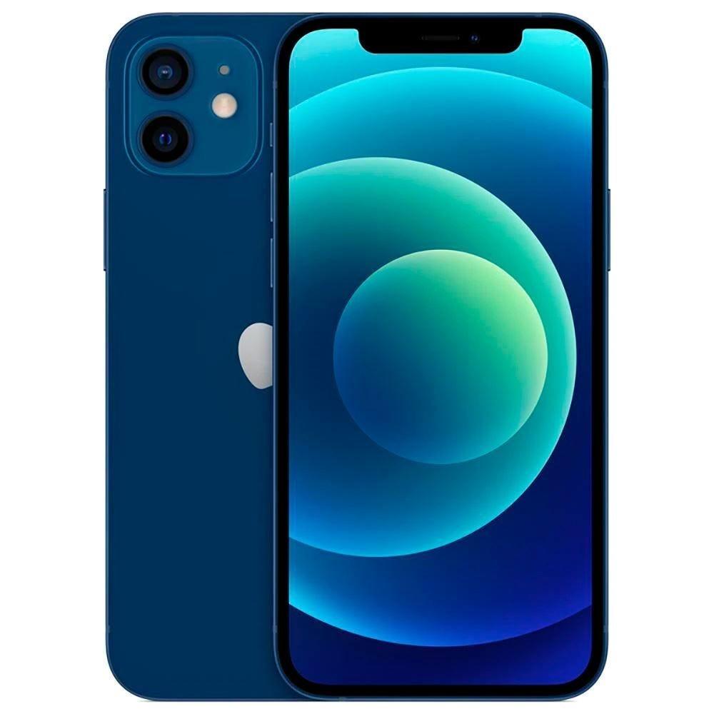Celular Smartphone Apple iPhone 12 Mini 128gb Azul - 1 Chip