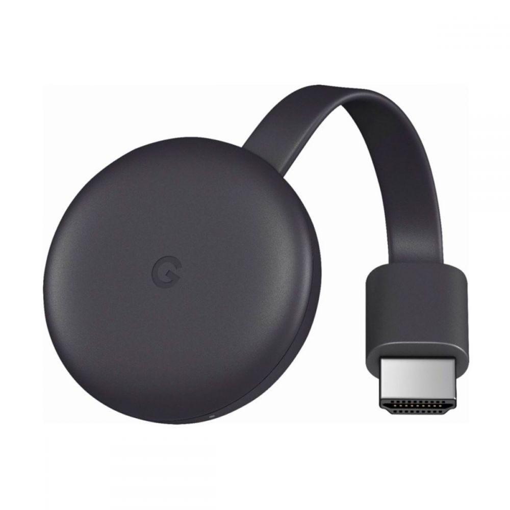 Chromecast 3 HDMI Full HD 1080p Google - Preto