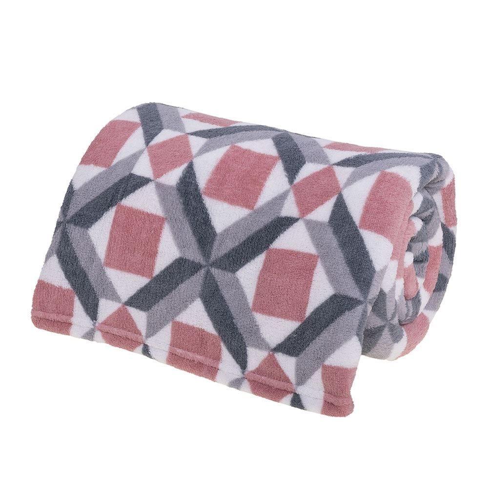 Cobertor Casal Microfibra Estampado Yaris - Thiago Rose