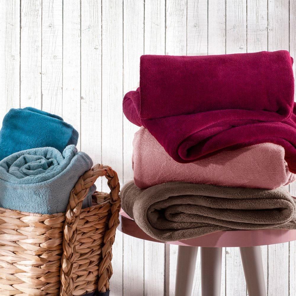 Cobertor Microfibra Solteiro Home Design - Sortidas Cores