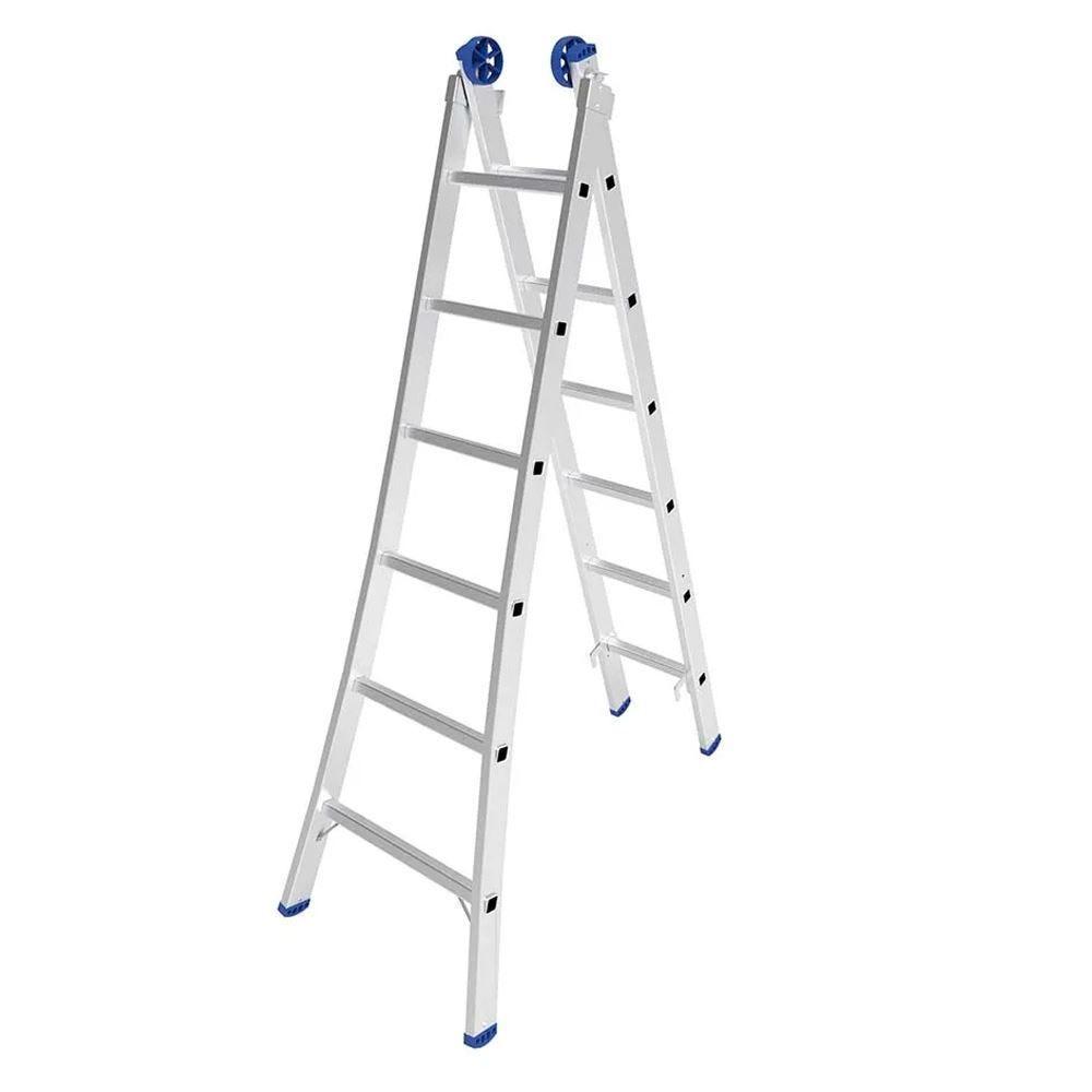 Escada de Alumínio Extensiva 2x6 Mor - 5202