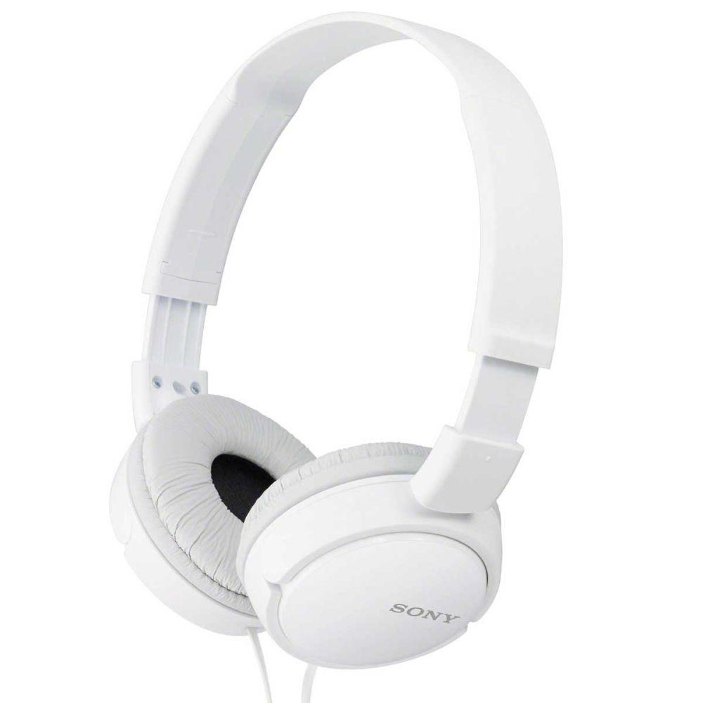 Fone de Ouvido Dobrável Sony MDR-ZX110 - Branco