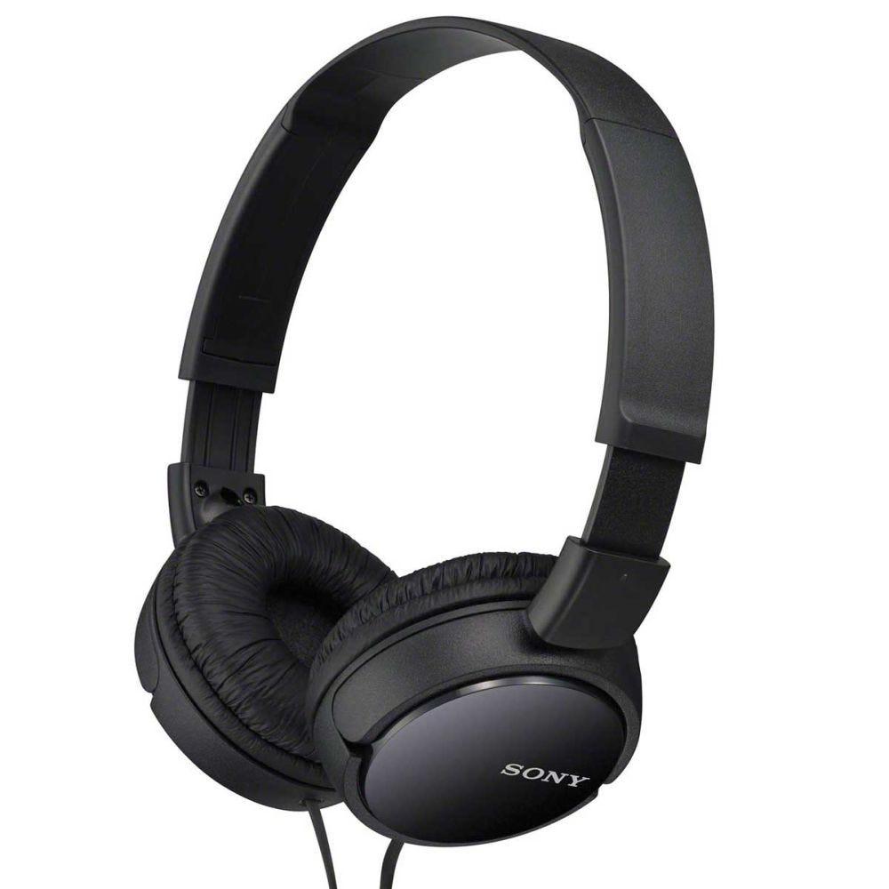 Fone de Ouvido Dobrável Sony MDR-ZX110 - Preto