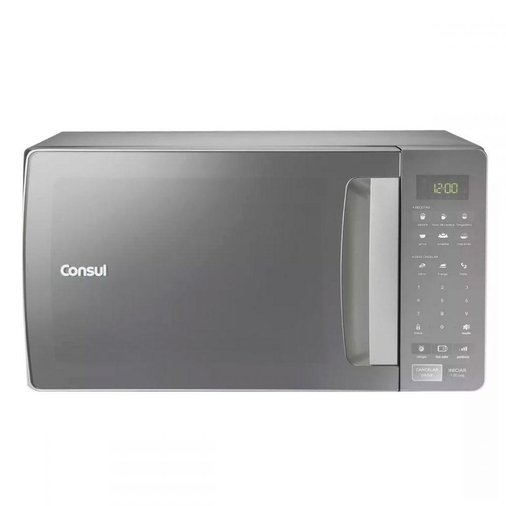 Forno Micro-ondas 32L Prata CMS45AR Consul