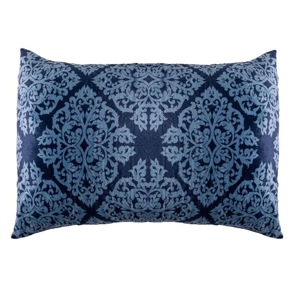 Fronha 50X70cm Plush Estampada Yaris - Ornamental Azul