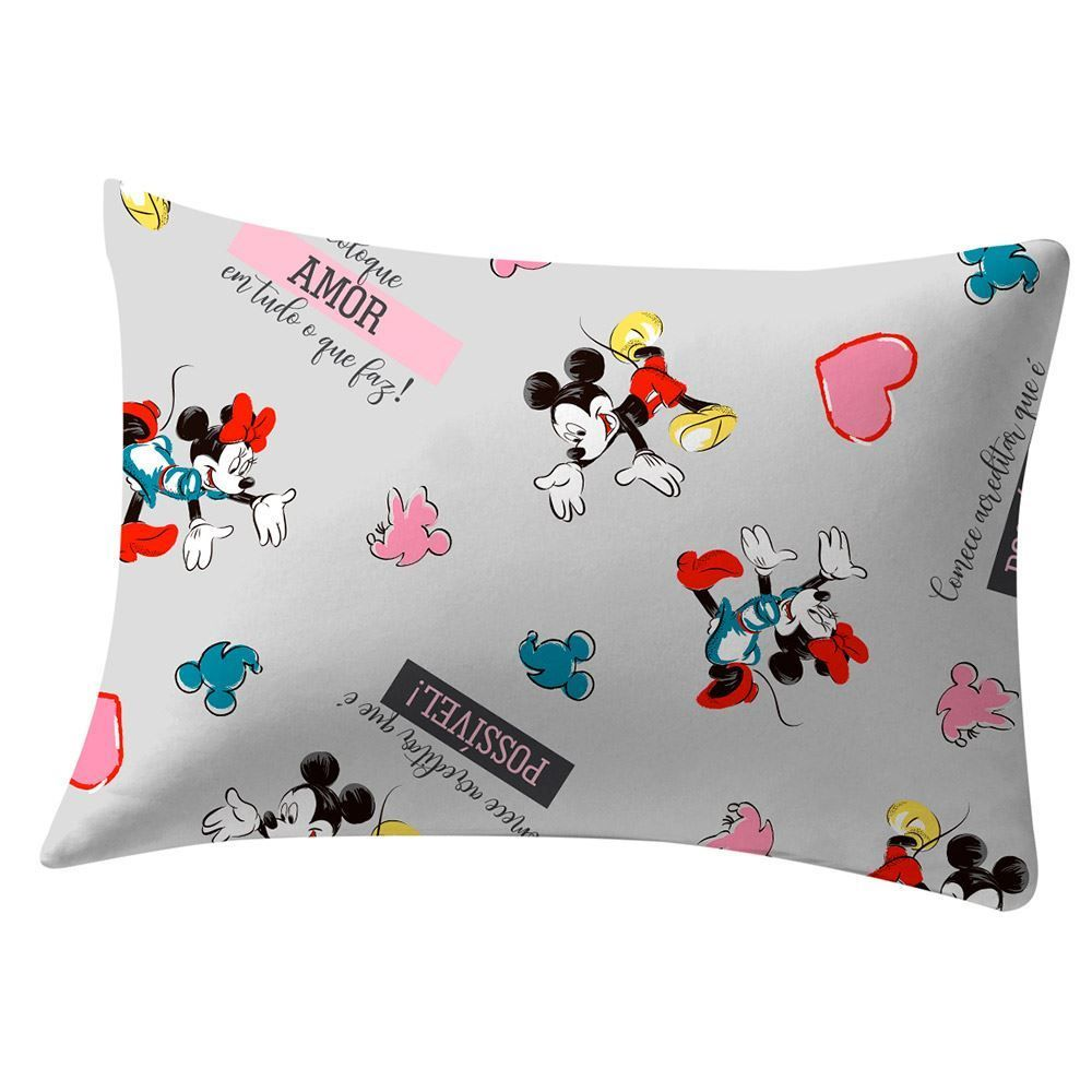 Fronha Estampada 48X68cm Disney - Minnie Sonhos