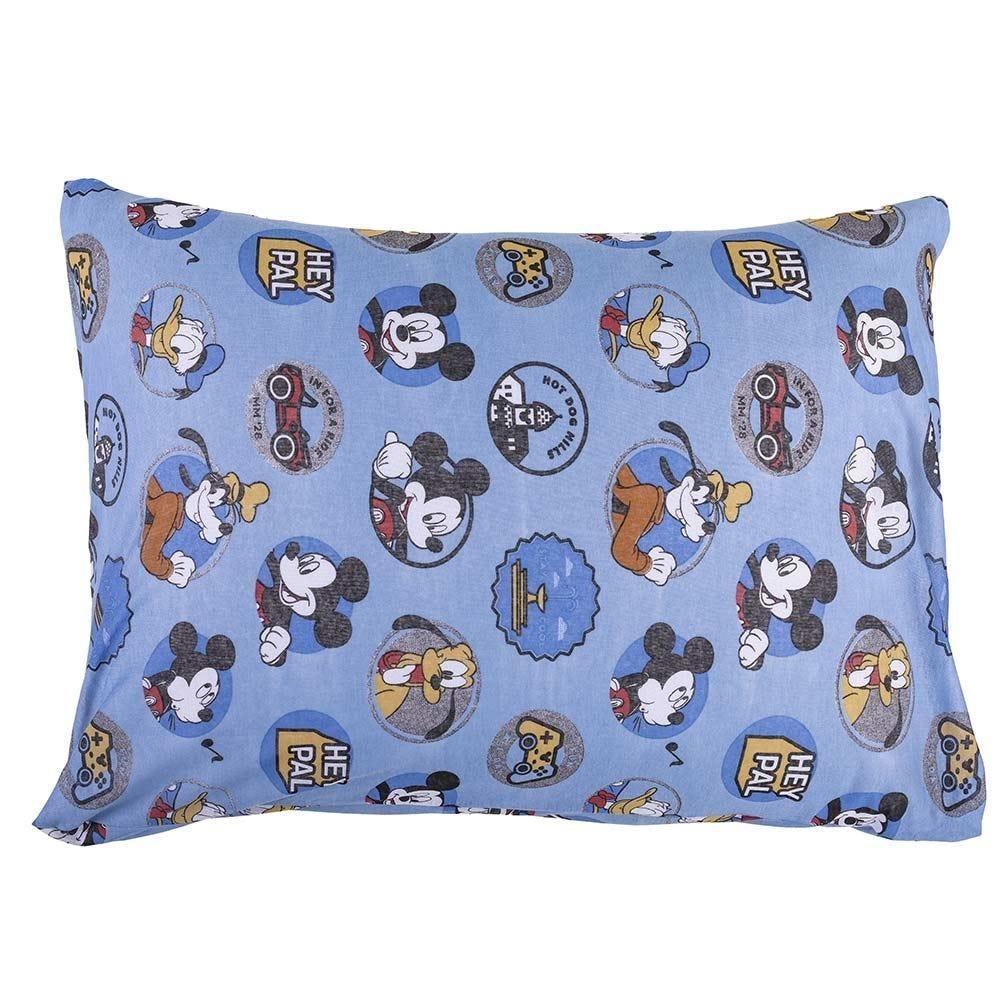 Fronha Estampada 48X68cm Disney - Amigos do Mickey Azul